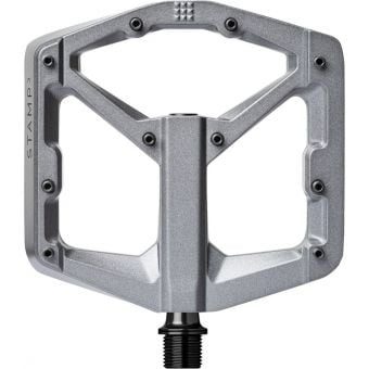 Crank Brothers Stamp 3 Gen2 Pedals Grey Magnesium Large