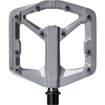 Crank Brothers Stamp 3 Gen2 Pedals Grey Magnesium Small