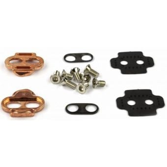 Crank Brothers Easy Release Cleat Set Rose