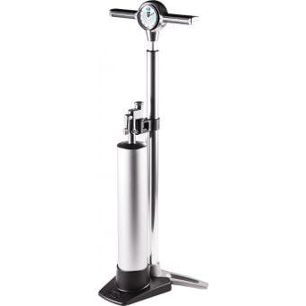 Crank Brothers Klic Tubeless Analogue Floor Pump (with Removable Burst Tank)