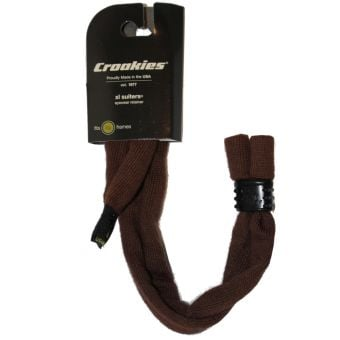 Croakies Suiters Cotton Extra-Large Sunglass Strap Solid Brown