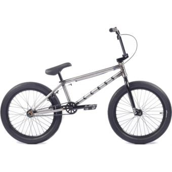 "Cult Access 20"" BMX Bike Raw Finish/Black"