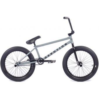 "Cult Devotion 20"" BMX Bike Grey/Black"