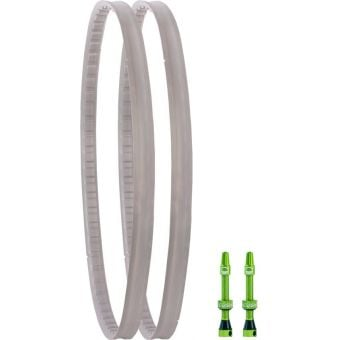 """Cush core Kit XC 29er XC 29 x 1.8""""- 2.4"""" Tubeless Puncture Protection Cross Section Detail"""