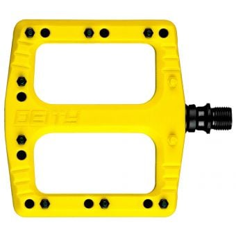 Deity Deftrap Pedals Ltd Ed Yellow