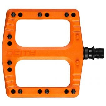 Deity Deftrap Pedals Orange