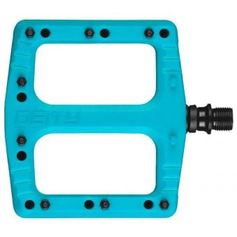 Deity Deftrap Pedals Turquoise