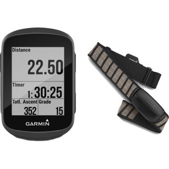 Garmin Edge 130 Plus GPS HRM-Dual Bike Computer Bundle