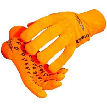 Defeet Duraglove ET Grippies Hi Viz Orange