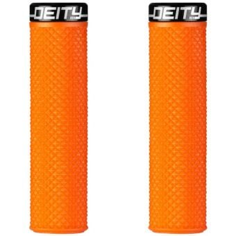 Deity Supracush MTB Handlebar Grip Orange