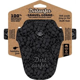 Dirtsurfer Mudguard Gravel Specific Black Hops