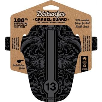 Dirtsurfer Mudguard Gravel Specific Demons Black
