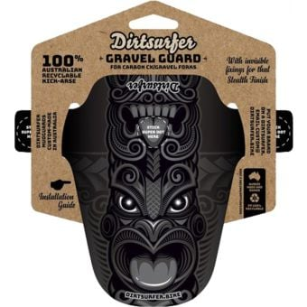 Dirtsurfer Mudguard Gravel Specific Tiki Black
