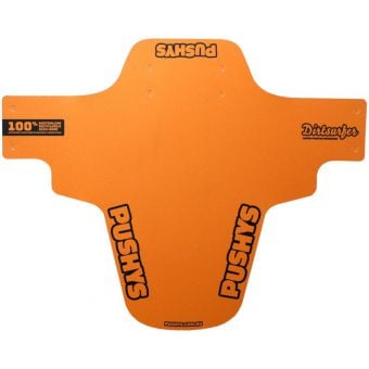 Dirtsurfer Mudguard Ltd Ed Pushys Logo Orange/Black