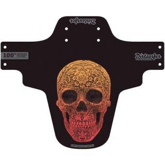 Dirtsurfer Mudguard Red Skull