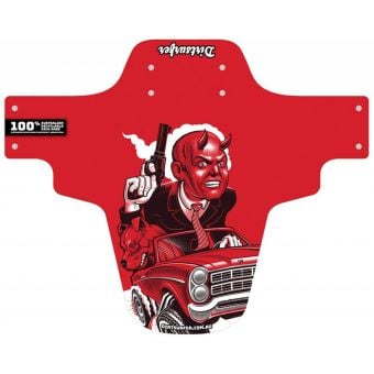 Dirtsurfer Mudguard Road Rage Red