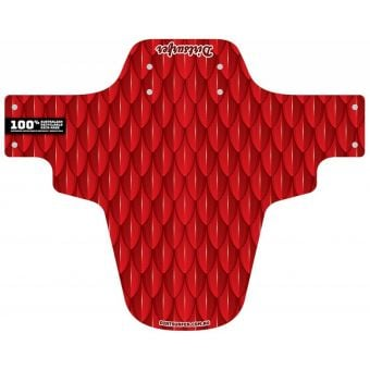 Dirtsurfer Mudguard Scales Red