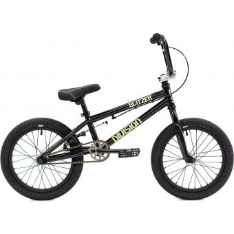 "Division Blitzer 16"" TT Complete BMX Bike Black/Polished"