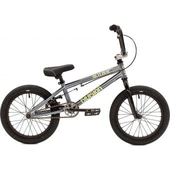 "Division Blitzer 16"" TT Complete BMX Bike Gunmetal Grey/Polished"
