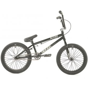 "Division Blitzer 19.25"" TT Complete BMX Bike Black/Polished"