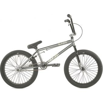 "Division Blitzer 18"" TT Complete BMX Bike Gun Metal Grey/Polished"