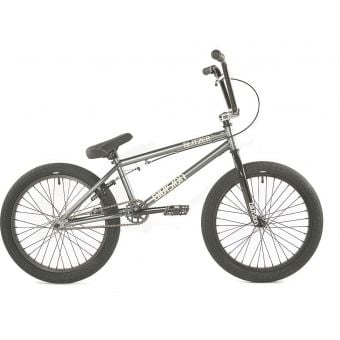 "Division Blitzer 19.25"" TT Complete BMX Bike Gun Metal Grey/Polished"