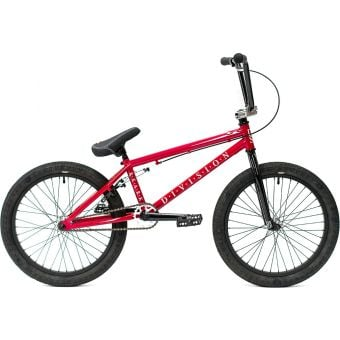 """Division Reark Complete 20"""" BMX Bike Candy Red"""