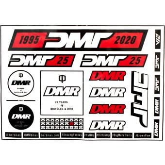 DMR 25 Years Sticker Selection Pack
