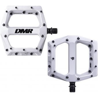 DMR Vault Brendog Flat Pedals Ice Silver