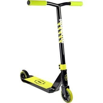 Dominator Tropper Scooter Black/Neon Yellow