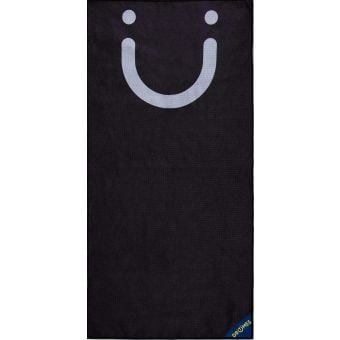 Dritimes Black Staple Gym Towel
