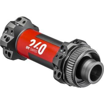 DT Swiss 240 EXP Straightpull 28H 100x15mm Centrelock Front Hub Black