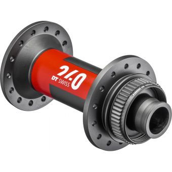 DT Swiss 240 Boost 32H 110x15mm Centrelock Front Hub Black