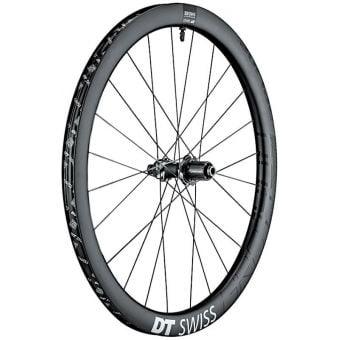 DT Swiss GRC1400 Spline 700c CL/Disc 42mm Carbon Clincher Rear Wheel Black (Shimano/SRAM 11sp)