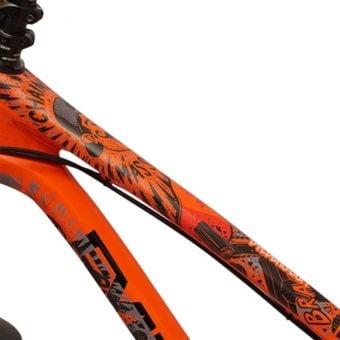 DyedBro Frame Protection Wrap Chainsaw Black