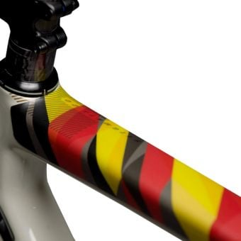 DyedBro Frame Protection Wrap Country Germany Flag Red/Yellow/Black
