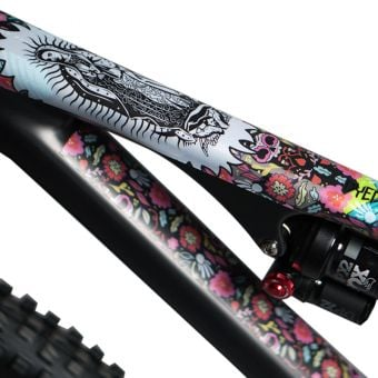 DyedBro Frame Protection Wrap Guadalupe Multicolour
