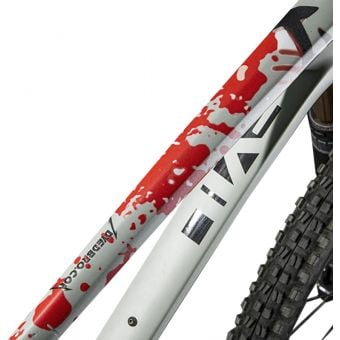 DyedBro Frame Protection Wrap Kill m´All Red/Black
