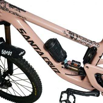 DyedBro Frame Protection Wrap Ride or Die Black
