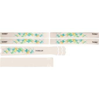 DyedBro Frame Protection Wrap Scales Blue