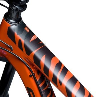 DyedBro Frame Protection Wrap Zebra Black