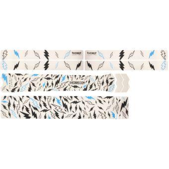 DyedBro Sergio Layos Signature Edition MTB Frame Protection Wrap Black Turquoise