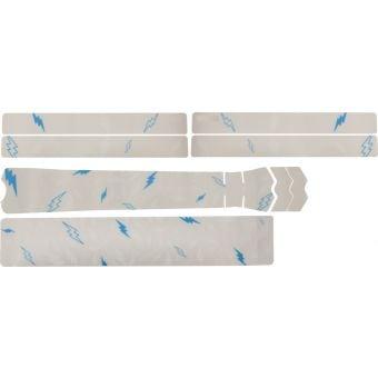 DyedBro Sergio Layos Signature Edition MTB Frame Protection Wrap White Turquoise