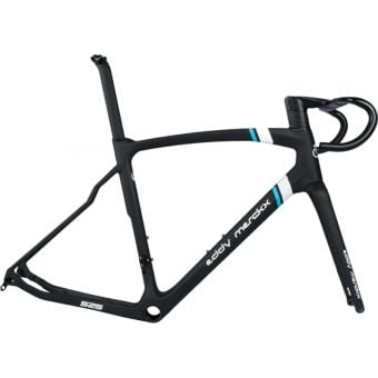 Eddy Merckx 525 Disc Aero Road Frameset Coffee/Black/Blue Team 2020