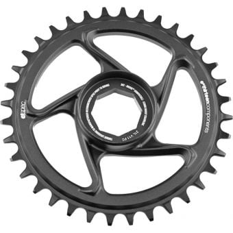ethirteen e*spec Aluminum Direct Mount Chainring Brose S Mag Black