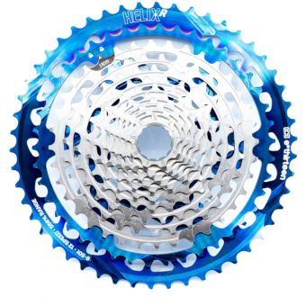 ethirteen Helix Race 9-50T 12sp Cassette Intergalactic/Nickel