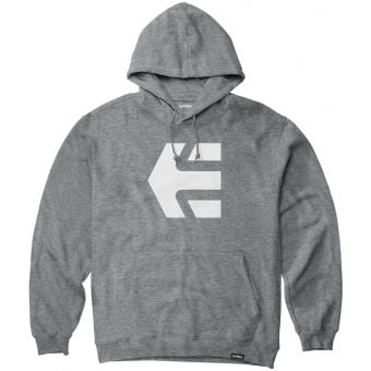 Etnies Classic Icon Hoodie Pullover Grey/White 2021