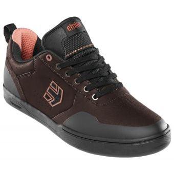 Etnies Culvert Flat Pedal Downhill Shoes Brown/Orange