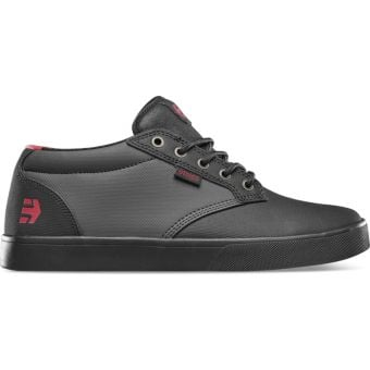 Etnies Jameson Mid Crank Brandon Semenuk Signature Flat Pedal MTB Shoes Black/Dark Grey/Red