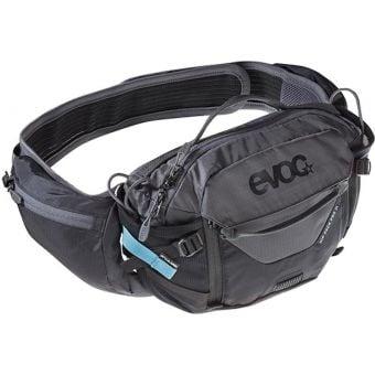 Evoc Pro Hip Pack 3L with 1.5L Bladder Black/Carbon Grey